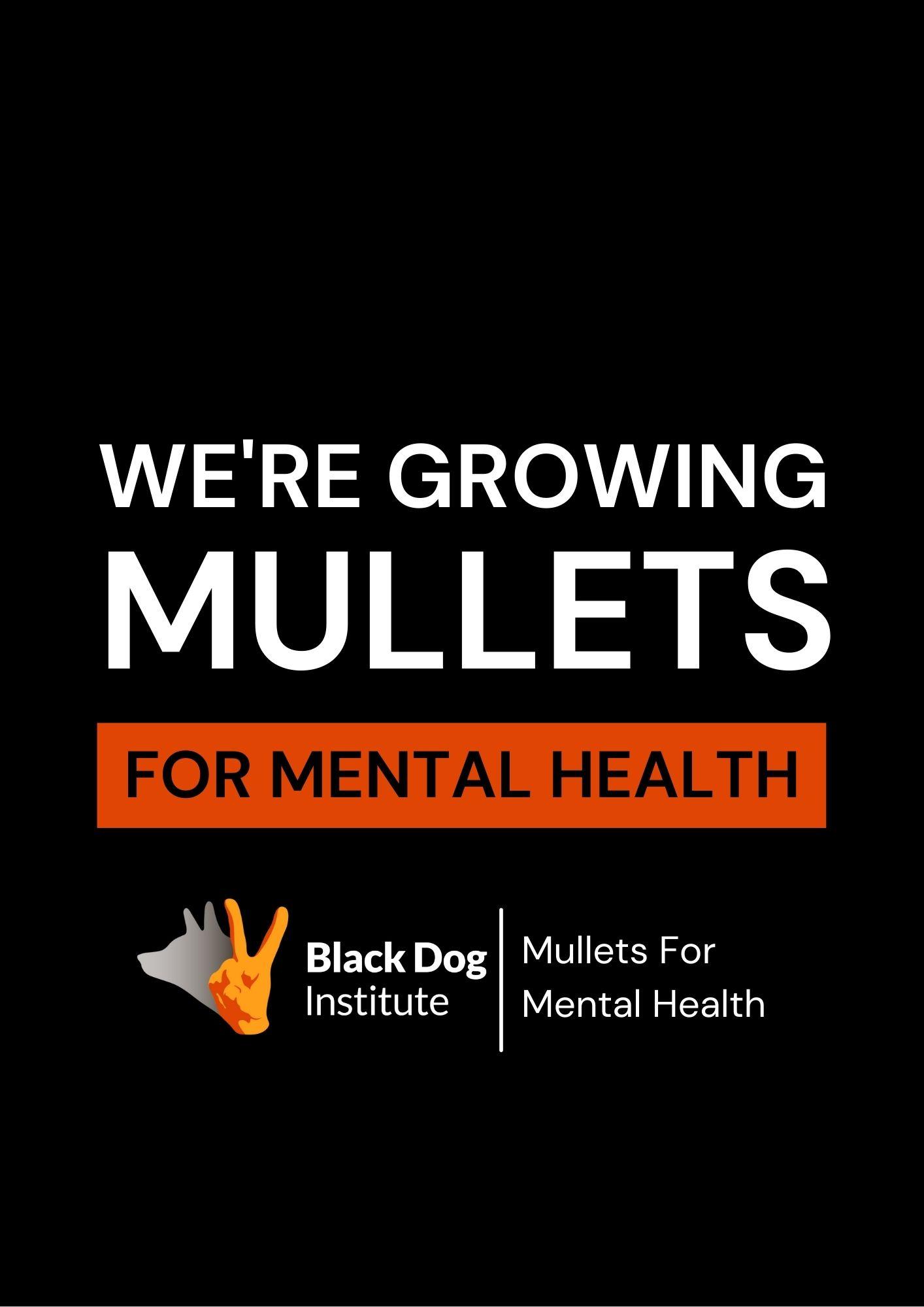Mullet General Black Poster We're