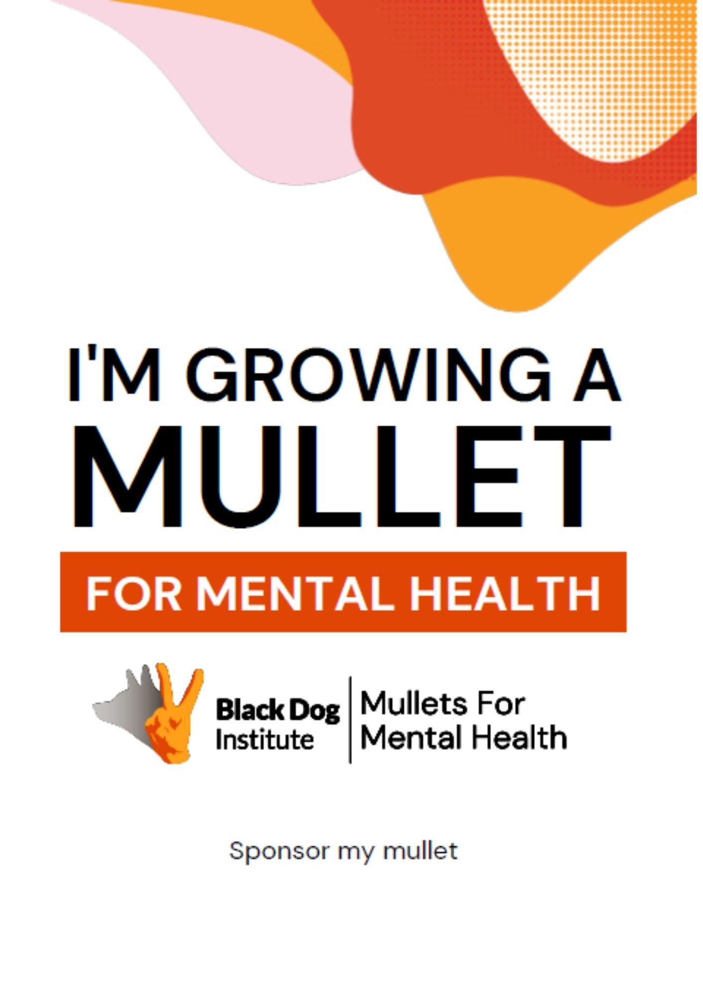Mullet General White Poster