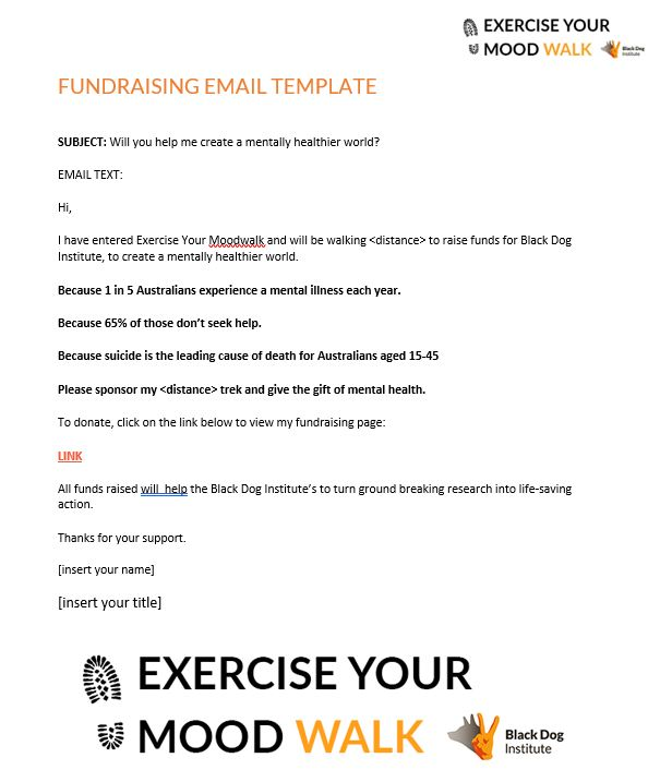 Exercise Your Moodwalk Email 2
