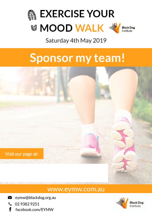 Sponsor our Team Poster