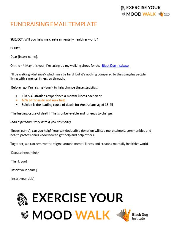 Exercise Your Moodwalk Email